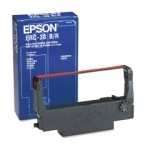 POS Ribbon - EPSON ERC-38 Ribbon, Black/Red 7009-01 **NOTE- These are sold in boxes of 6. One box is equal to 6 ribbons.
