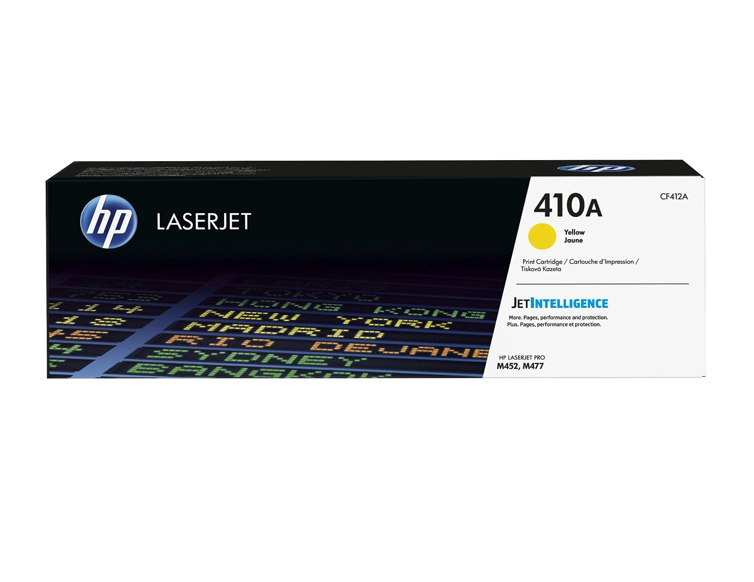 HEWLETT PACKARD CF412A Yellow Toner OEM